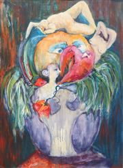 Sale 8702 - Lot 2083 - Artist Unknown (C20th) - A Vase of Erotic Dreams, 72 x 52cm