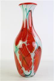 Sale 8868 - Lot 1190 - Large Artglass Vase, (H42cm), slight chip to neck