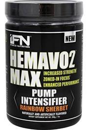 Sale 8288B - Lot 97 - 2x Iforce Nutrition Lemon Drop Hemavo 2 Pump Intensifier Pre Workout, 338 Grams, RRP $69.95 Each