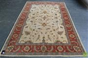 Sale 8523 - Lot 1045 - Indian Modern Rug (275 x 185cm)
