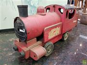 Sale 8580 - Lot 1061 - Tin Plate Large Toy Trian Locomotive