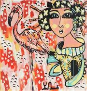 Sale 8826A - Lot 5066 - Yosi Messiah (1964 - ) - Pink Flamingo 85 x 85cm