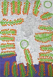 Sale 8288A - Lot 58 - Ruby Tjangawa Williamson (1940 - 2014) - Untitled, 2009 110 x 160cm