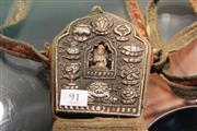 Sale 8324 - Lot 91 - Tibetan Travel Shrine