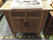 Sale 8412 - Lot 1088 - Oriental Two Door Sideboard