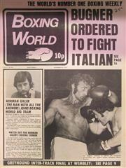 Sale 8450S - Lot 759 - Boxing World - a box of this weekly, 1972-1973, with lots of Ali and Bugner