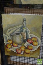 Sale 8530 - Lot 2085 - Artist Unknown, Still Life, 61 x 51cm, unsigned