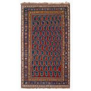 Sale 8971C - Lot 52 - Antique Caucasian Kazak Rug, Boteh Design, Circa 1930, 130x235cm, Handspun Wool