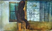 Sale 8996A - Lot 5008 - Charles Blackman (1928 - 2018) - Girl By a Window 112 x 177 cm