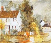 Sale 9047 - Lot 599 - Wilmotte Williams (1916 - 1992) - Autumn Days 36 x 44.5 cm (frame: 55 x 62 x 3 cm)