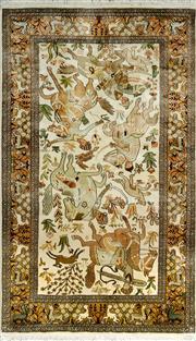 Sale 8335C - Lot 43 - Kashmiri Silk 160cm x 95cm