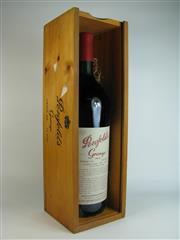 Sale 8340A - Lot 671 - 1x 1991 Penfolds Bin 95 Grange Shiraz, South Australia - 1500ml magnum in original timber box