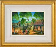 Sale 8382 - Lot 547 - Kevin Charles (Pro) Hart (1928 - 2006) - Miners Kids 24.5 x 34.5cm
