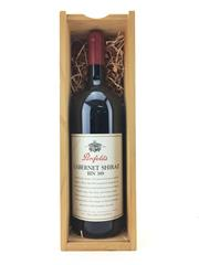 Sale 8571 - Lot 759 - 1x 1997 Penfolds Bin 389 Cabernet Shiraz, South Australia - 1500ml magnum in timber presentation box