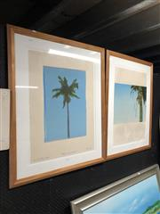 Sale 8853 - Lot 2083 - 2 Works: Ian H. Pearson : Thatch Palm 12/17 1978 & Palm Impression, 5/18 1979