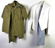Sale 8952M - Lot 679 - Miscellaneous Group Of Uniforms Incl Thai, German Polizei And Two Chefs Uniforms