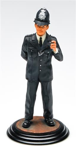 Sale 9246 - Lot 58 - A Ballantynes vintage policeman figure in original box (H:20cm)