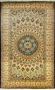 Sale 8335C - Lot 44 - Kashmiri Silk 160cm x 95cm