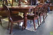 Sale 8390 - Lot 1332 - 11 Piece Dining Suite