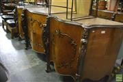 Sale 8386 - Lot 1088 - French Style Serpentine Front Sideboard