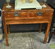 Sale 8440 - Lot 1006 - Chinese Rustic Two Drawer Side table