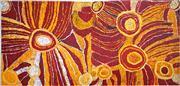 Sale 8808 - Lot 567 - Nyankulya Watson (c1938 - 2012) - Kapi Tjuta, 2005 65 x 142cm