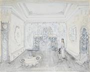 Sale 8958A - Lot 5043 - Kenneth Rowell (1920 - 1999) - White Interior 40 x 50 cm (frame: 72 x 82 x 3 cm)