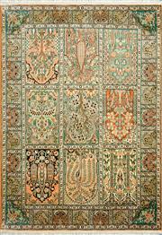 Sale 8335C - Lot 45 - Kashmiri Silk 185cm x 130cm