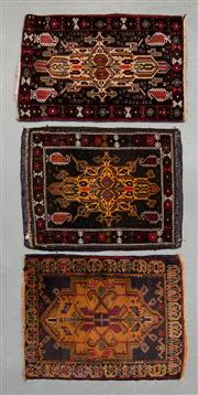 Sale 8493C - Lot 65 - 3 x Antique Door Mats  approx. 80cm x 60cm