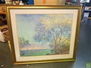 Sale 8640 - Lot 2086 - Claude Monet Print - Tree