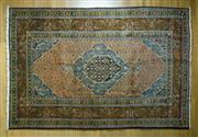 Sale 8372C - Lot 40 - A Persian Tabriz, 395 x 200cm