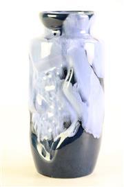 Sale 8980 - Lot 47 - West German Style Studio Potted Vase H: 25cm