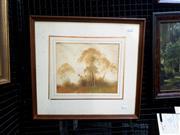 Sale 9061 - Lot 2013 - Gerald George Ansdell (Working 1920s-40s) - Landscape frame: 43 x 47 cm