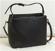 Sale 9081H - Lot 62 - A DKNY crossbody handbag in black leather