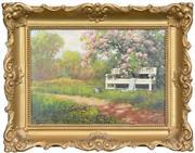 Sale 8286 - Lot 586 - László Neogrady (1896 - 1962) - Spring Garden 25 x 35cm