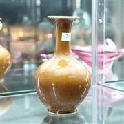 Sale 8362 - Lot 74 - Chinese Brown Glaze Vase