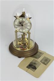 Sale 8396 - Lot 91 - Koma Dome Cased Clock