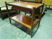 Sale 8661 - Lot 1031 - Vintage Parker Tea Trolley