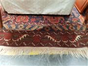 Sale 8834 - Lot 1083 - Red and Blue Tone Floor Rug (200 x 120cm)