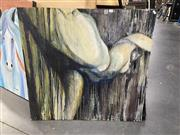 Sale 8932 - Lot 2055 - Naomi Hamilton - Nude, wash on board,