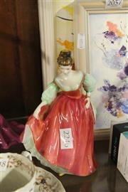 Sale 8336 - Lot 47 - Royal Doulton Figure Fair Lady