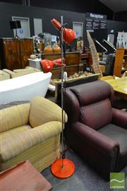 Sale 8507 - Lot 1034 - Osloin Shade Standard Lamp