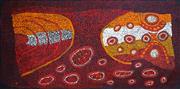 Sale 8808 - Lot 608 - Bernard Tjalkuri (c1930s - ) - Irmirka, 2005 72 x 142cm