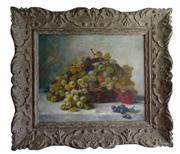 Sale 8828B - Lot 10 - Jules Rozier (French 1821-1882) - Still Life 38 x 46cm