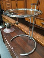 Sale 8859 - Lot 1042 - Eileen Grey Adjustable Side Table