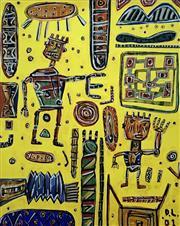 Sale 8996A - Lot 5012 - David Larwill (1956 - 2011) - Untitled 113 x 92 cm