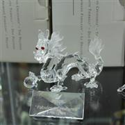 Sale 8336 - Lot 53 - Swarovski Crystal 1997 Fabulous Creatures 'Dragon' with Name Plate and In Original Box