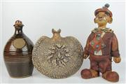 Sale 8422 - Lot 12 - Australian Studio Pottery Clown Other Wares