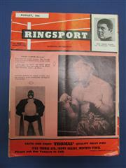 Sale 8419A - Lot 71 - Ringsport - a box of mostly Australian boxing publications, 1960s