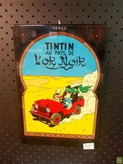 Sale 8640 - Lot 2097 - Tintin Sign